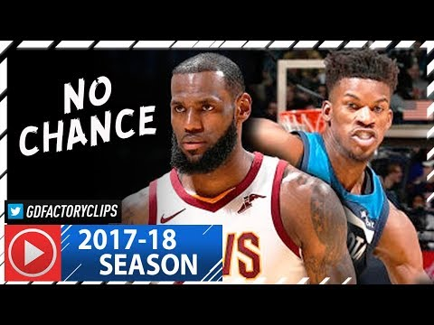 Jimmy Butler vs LeBron James SICK Duel Highlights (2018.01.08) Cavaliers vs Wolves - NO CHANCE!