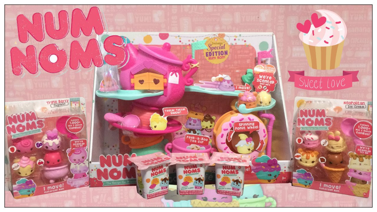 Num Noms Go Go Cafe Playset Toy Review Amp Num Noms Blind