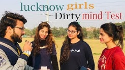 Common Sense In Hindi : Lucknow Girls Mind Test : Doublemeaning : The EnterTainers