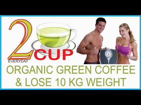 WEIGHT LOSS AT HOME WITH GREEN COFFEE BEANS