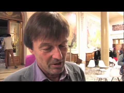 Interview Nicolas Hulot Cité de la réussite 2012