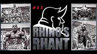 Rhinos Rhants #11 - How your snoring is killing your Gainz AND YOU!!