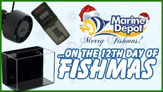 Twelfth Day of Fishmas ❄ AI Nero 5 GIVEAWAY ❄ Crystal Tanks 10% OFF ❄ 2-in-1 Filter/Skimmer 10% OFF
