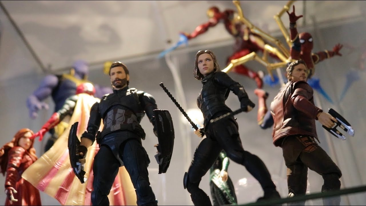 Avengers posed like black widow necessary words