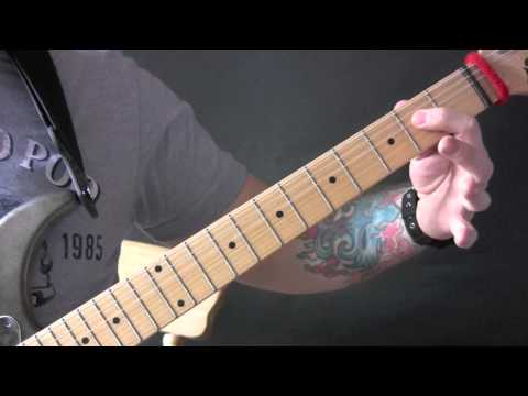 Easy Lover Guitar Tutorial by Phil Collins & Philip Bailey