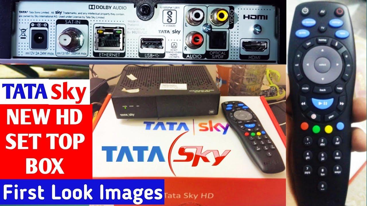 Tata Sky 2019 Hd Set Top Box First Look Unboxing Hd Set Top Box