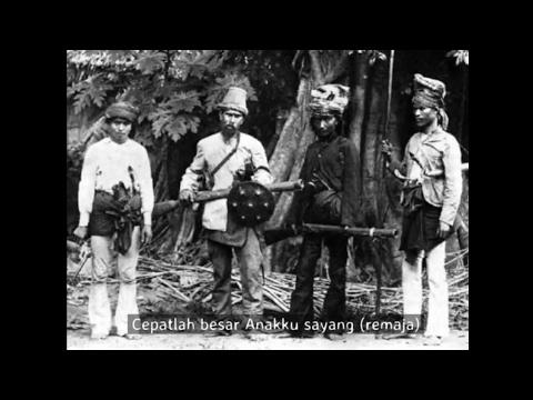 Doda Idi - Lirik Bahasa Indonesia (Syair untuk Si Buah Hati, Ninabobo Versi Aceh)