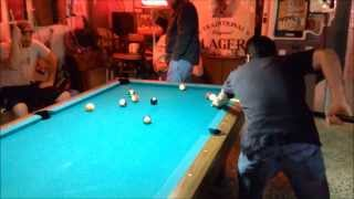 Friday Night Pool Mayhem
