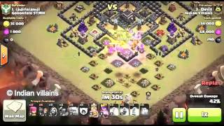 War attacks I Clash Of clans I Devil attacks