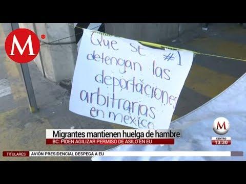 Lo Que Debes Saber - Migrantes mantienen huelga de hambre