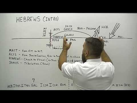 Introduction to Hebrews Verse by Verse Bible Study KJV