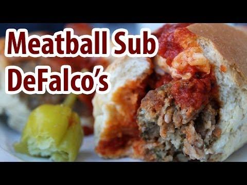 Meatball Sub At DeFalco's Italian Deli, Scottsdale, Arizona