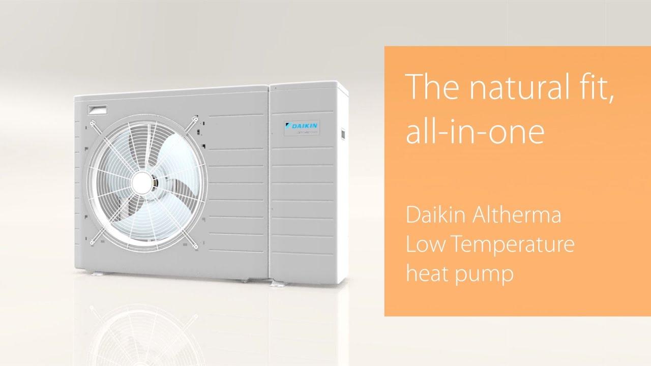 Air to water heat pump technology LT | Daikin