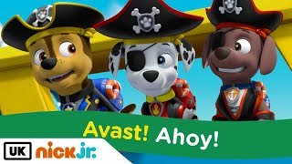 Paw Patrol | Sing Along: Pirate Song | Stay Home #WithMe | Nick Jr. UK