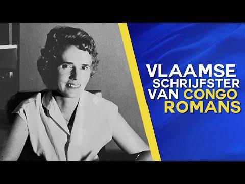 """Getuigenis Vlaamse schrijfster van Congo-Romans """"Daisy Ver Boven"""" over Belgisch Congo"""