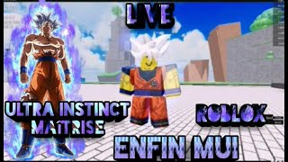 EN UN MAITRISER EN FIN ULTRA INSTINCT EN DRAGON BALL N ON ROBLOX
