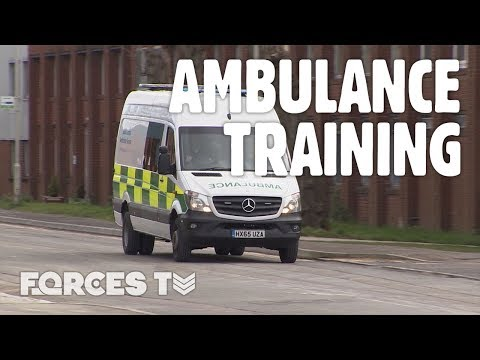 Why Military Personnel Are Learning To Drive Ambulances | Forces TV