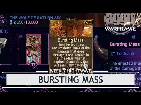 Warframe: Bursting Mass 90,000 Points of Damage!? [weeklynightwave] thumbnail