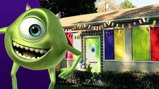 Mike Wazowski Halloween Door Decor | Disney Family
