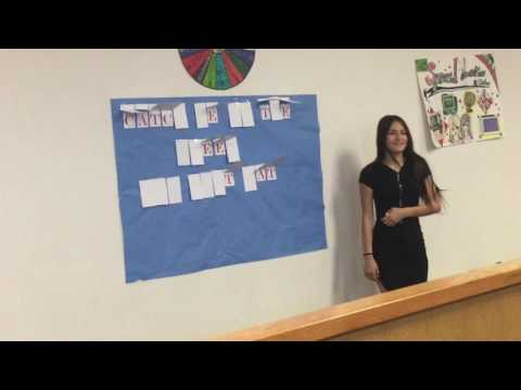 Hohokam Middle School Plays Wheel of Fortune