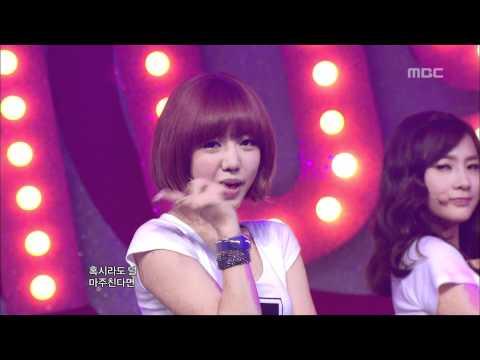 A-pink - Hush, 에이핑크 - 허쉬, Music Core 20120512