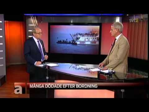 (Eng. subs) Carl Bildt i Aktuellt angående attacken på Ship to Gaza