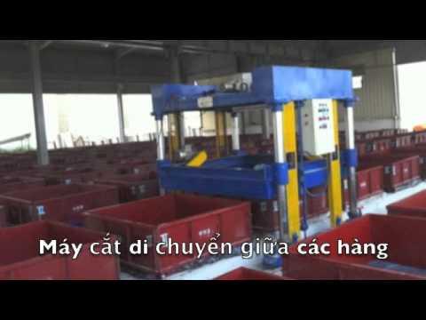 Công nghệ sản xuất gạch bê tông bọt