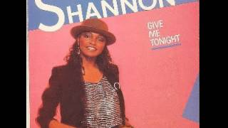 SHANNON - Give Me Tonight - original U.S. 45 version