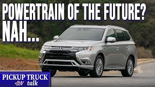 Gambar cover Are Plug-In Hybrids the Future? 2019 Mitsubishi Outlander PHEV Review
