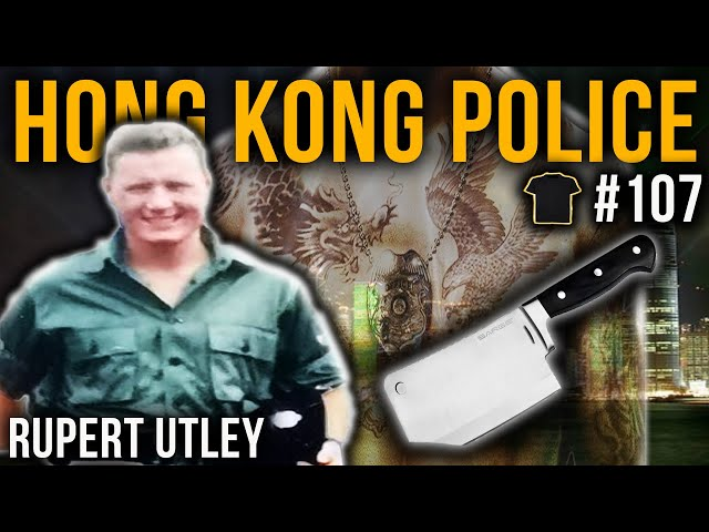 Triad Shootout | Hong Kong Police Inspector | Rupert Utley | Bought The T-Shirt Podcast #107