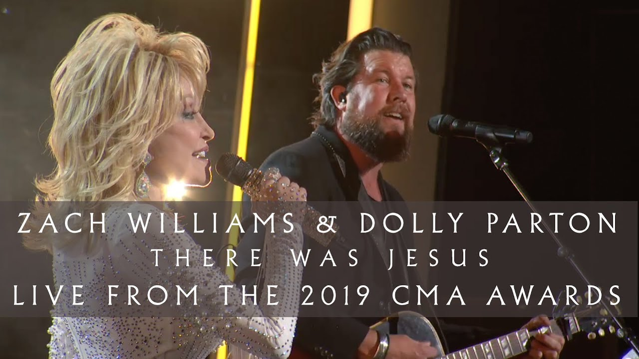 """Zach Williams and Dolly Parton - """"There Was Jesus"""" (Live from the 2019 CMA Awards)"""
