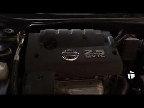 2005 Nissan Altima Engine Shaking Idle