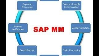 SAP Module MM - Introduction tutoriel pour les débutants