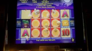 Aristocrat Technologies - Cactus Corral Slot Bonus BIG WIN