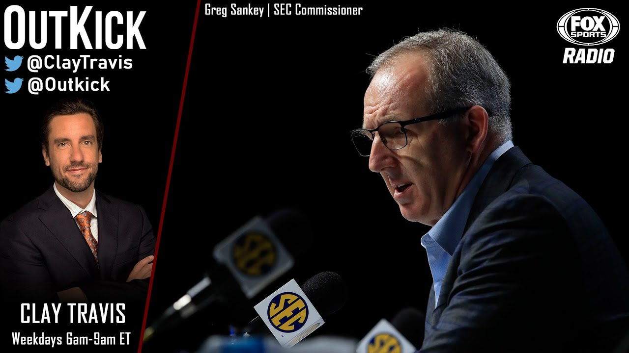 GREG SANKEY JOINS CLAY AND GIVES A POSITIVE OUTLOOK FOR SEC FOOTBALL RETURN