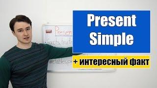 Present Simple - Настоящее Простое время +интересный факт