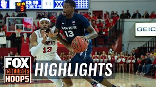 Naji Marshall with career high 31 points in a win over the Red Storm | FOX COLLEGE HOOPS HIGHLIGHTS