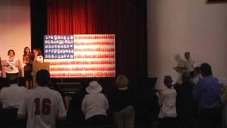 Hoboken HS: 9/11 10-Year Anniversary Commemoration Ceremony (Part II) & HHS 9/11 Memorials Tribute