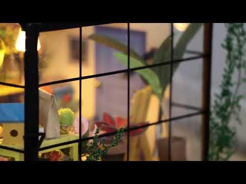 DIY Garden Green House LED Light