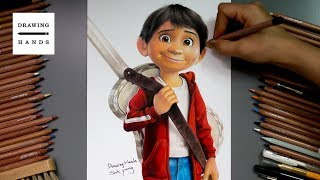 Speed Drawing Coco - Miguel [Drawing Hands]