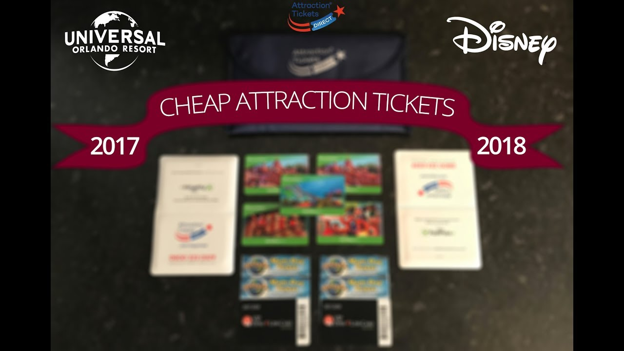 Cheap Attraction Tickets Direct for Disney World ...