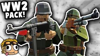 AMAZING WW2 MOD PACK! | Ravenfield Mod G...
