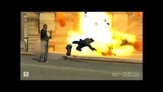 GTA 4 - Трюки, Аварии и Приколы! [#6]