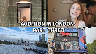 COME WITH ME TO ANOTHER AUDITION! | AUDITION VLOG PART 3 | Georgie Ashford