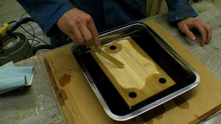 Bamboo Chopping Board / Placemat / Recycled Workbench