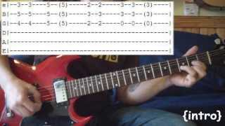 The entire guitar lesson for Island In The Sun by Weezer including ...