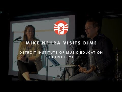 Vintage King's Mike Nehra Talks With DIME Detroit Students