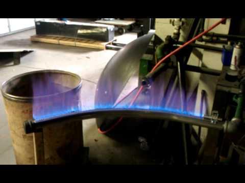 SS Pizza Oven Burner  YouTube