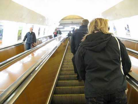 World's Steepest and Most Deadly Escalator....Prague Czech Republic