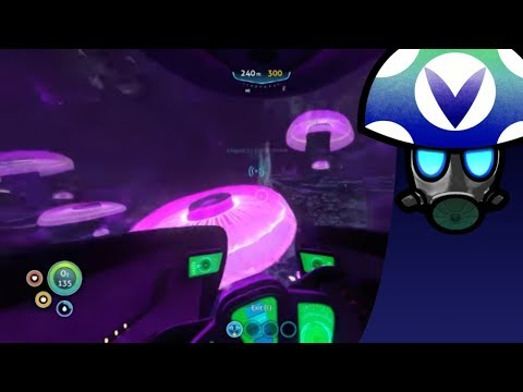 Subnautica: s3 e4 Glowing Jelly Shroom Cave - Rev After Hours [Vinesauce]